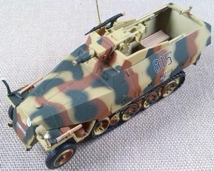 "Sd.Kfz.251/9 Ausf.D ""Stummel"", 20.Pz.Div., Prusia Oriental, 1944, escala 1/72, IXO-Altaya"