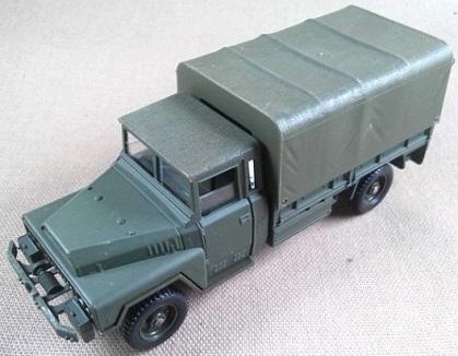 camión ACMAT militar, Ejército francés, escala 1/50, Solido