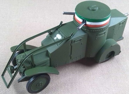 Ansaldo-Lancia IZM, Ejército Italiano, 1916, escala 1/43, Criel-DeAgostini