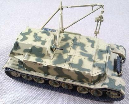 Bergepanzer Tiger (P), s.Pz.Jg.Abt 653, Anzio (Italia), 1943, 1/72, IXO-Altaya