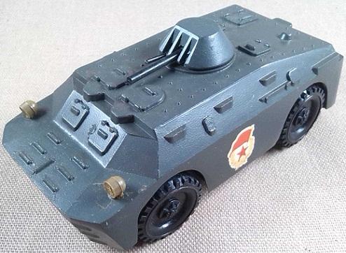 BRDM-2, Ejército soviético, escala 1/43