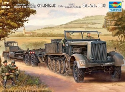 Resultado de imagen de sdkfz 9 model kit