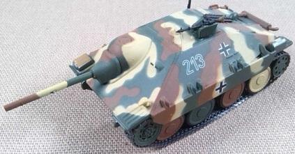 Jagdpanzer 38 Hetzer, PzJgAbt 744, Moravia (Checoslovaquia), 1945, IXO-Altaya