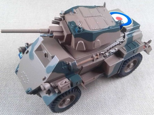 Humber Mk IV, 8th Inf. Div. (India), Italia, 1943, escala 1/43, Eaglemoss