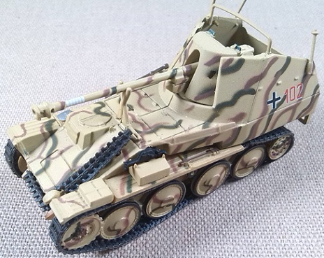 Marder III Ausf. M, 12.SS.Pz.Div., Normandía (Francia), 1944, escala 1/72, IXO-Altaya