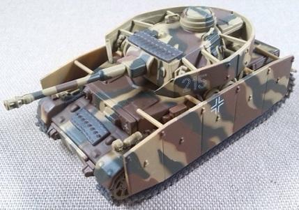 IV Ausf. G, 20.Pz.Div., Kursk (URSS), 1943, escala 1/72, IXO-Altaya