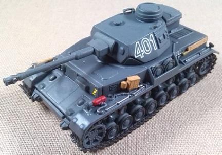 Pz.Kpfw.IV Ausf. G, 19.Pz.Div., Sgfonovo (URSS), 1942, escala 1/72. IXO-Altaya
