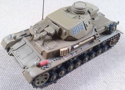 Pz.Kpfw.IV Ausf. D, 15.Pz.Div., Libia, 1941, escala 1/72, IXO-Altaya