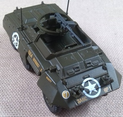 M-20 armored utility car, 6th Cav.Rgt., Alemania, 1945, escala 1/72, IXO-Altaya