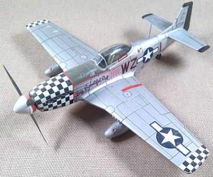 P-51D, USAF, 78th FG, 1944, escala 1/72, IXO-Altaya