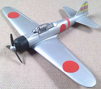 Mitsubishi Zero, escala 1/100, Model Power