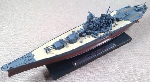 acorazado Yamato, escala 1/1250, Atlas-DeAgostini