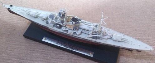 crucero acorazado Scharnhorst, escala 1/1250, Atlas-DeAgostini