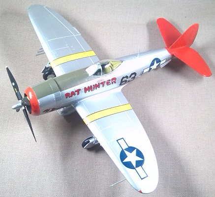 P-47D, escala 1/48, Easy Model