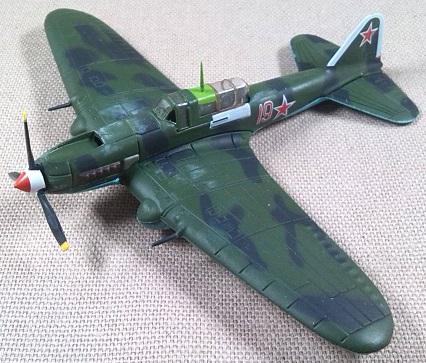 Ilyuscin Il-2M3 Sturmovik, Fuerza Aérea soviética, escala 1/120, DeAgostini