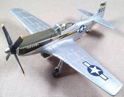 P-51D Mustang, USAF, Liulang (China), 1944, escala 1/72, Corgi