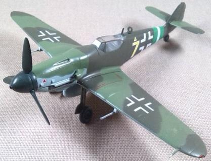 Bf.109G-10, escala 1/72, Revell