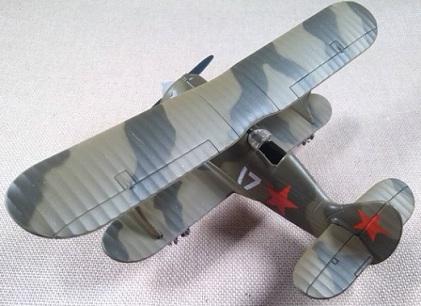Polikarpov I-152, Fuerza Aérea soviética, escala 1/72, DeAgostini