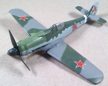Fw.190D-9 capturado empleado por Fuerza Aérea soviética, escala 1/72, Easy Model