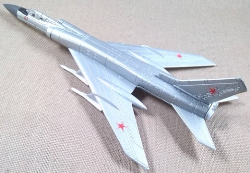 Tu-128, Fuerza Aérea soviética, escala 1/180, DeAgostini