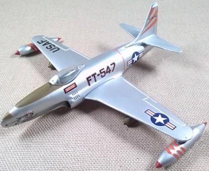 P-80 Shooting Star, USAF, Corea, escala 1/100, Italeri