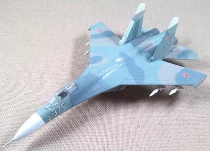 Su-27, Armada soviética, escala 1/160, DeAgostini