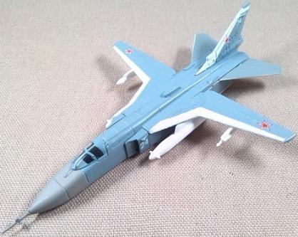 Su-24, Fuerza Aérea soviética, escala 1/160, DeAgostini