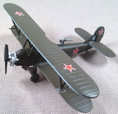 Po-2, Fuerza Aérea soviética, escala 1/100, DeAgostini