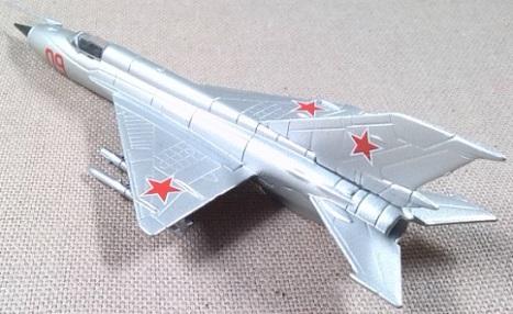 MiG-21, Fuerza Aérea soviética, escala 1/120, DeAgostini