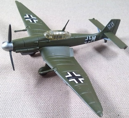 Ju-87, Luftwaffe, escala 1/100, Model Power