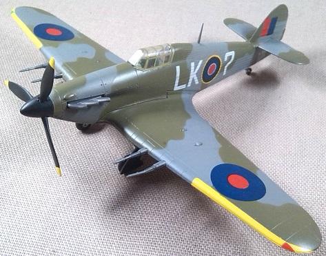 Hawker Hurricane Mk.II, RAF, 1/72, Revell