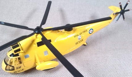 Westland Seaking, servicio de rescate de la RAF, escala 1/160, Corgi