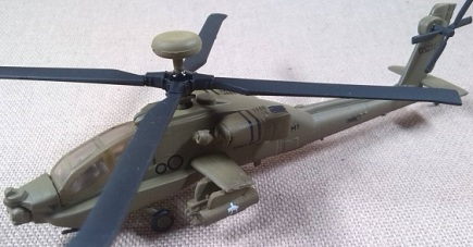 AH-64D, US Army, escala 1/144, Dragon