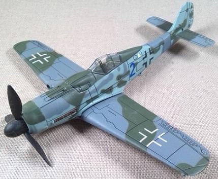 Fw.190D-9, Luftwaffe, Frente oriental, 1944, escala 1/72, IXO-Altaya