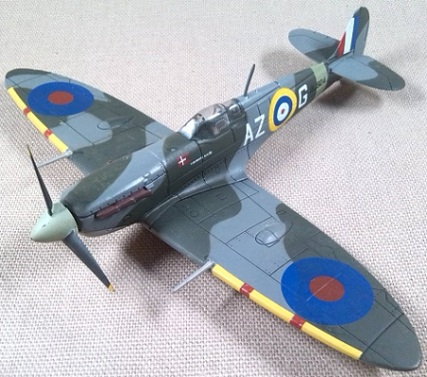 Spitfire Mk.Vb, escala 1/72, IXO-Altaya