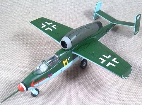 Salamander de la Luftwaffe, escala 1/72, IXO-Altaya
