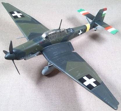 Ju.87D-5, 102./1 Flota, Real Fuerza Aérea Húngara, 1943, escala 1/72, Easy Model