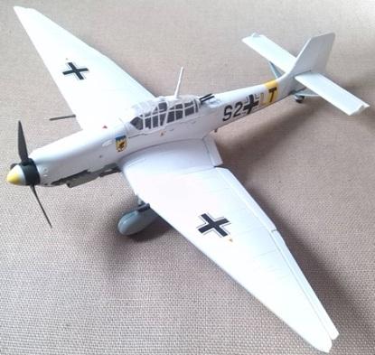Ju.87D-3, Frente oriental, 1942, escala 1/72, Easy Models