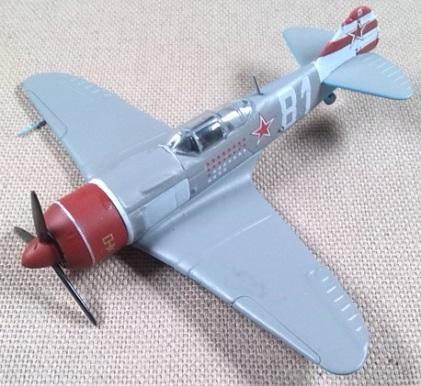 La-7, Fuerza Aérea soviética, escala 1/100, DeAgostini