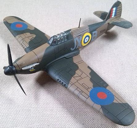 Hurricane Mk.I, RAF, batalla de Inglaterra, 1/72, IXO-Altaya