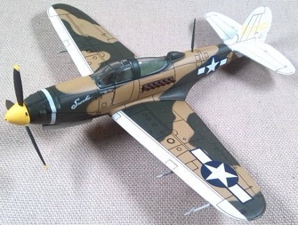 P-39Q del USAAF, 71st TRS, escala 1/72, IXO-Altaya
