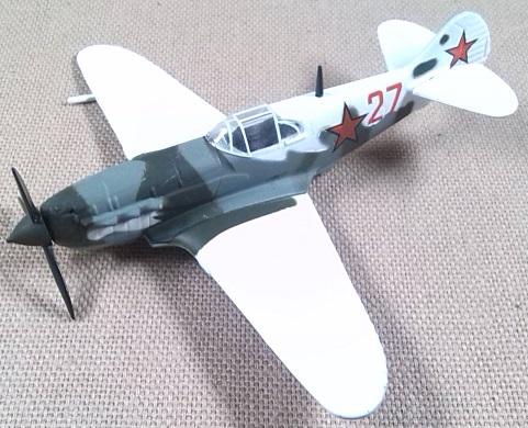 Lavochkin LaGG-3, Fuerza Aérea soviética, escala 1/100