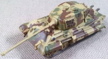 Königstiger, escala 1/144, 21st Century Toys