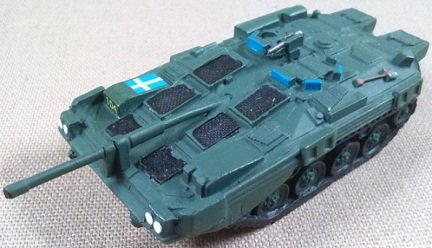 Strv 103 (S-tank), Ejército sueco, 1/87, Andrea Miniatures