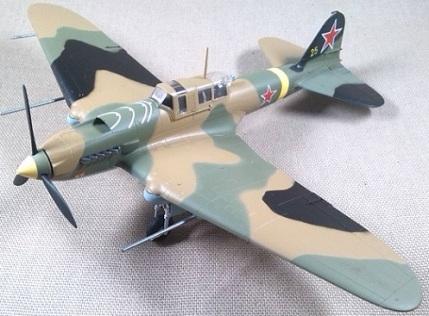 Il-2M3, Fuerza Aérea soviética, escala 1/72, Easy Model