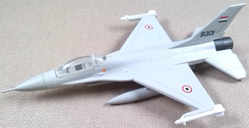F-16 de la Fuerza Aérea egipcia, 1982, escala 1/125, Model Power
