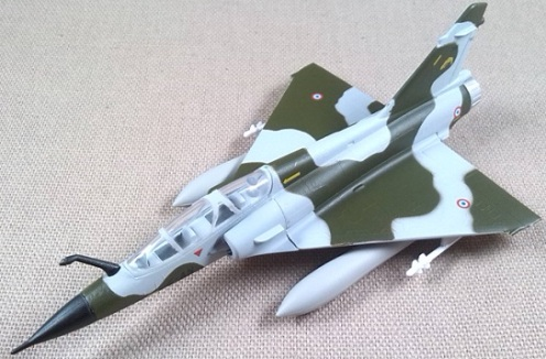 Mirage 2000D, Armée de l'Air, escala 1/120, Model Power
