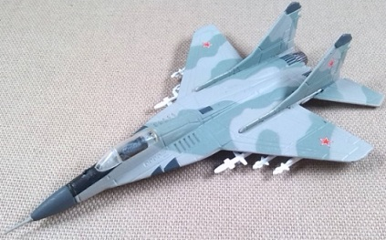 MiG-29 de la Fuerza Aérea soviética, escala 1/150, DeAgostini