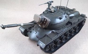 M-48A3, US Army, Vietnam, 1972, escala 1/48, Corgi