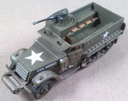 M-3A1 del US Army, guerra de Corea, escala 1/72, Corgi